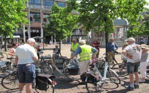 Start op de Kerkbrink Hilversum